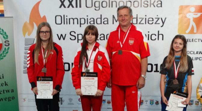Złote medale na Ogólnopolskiej Olimpiadzie Młodzieży